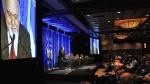Congrès IPSO et Bloc Québécois, Gilbert Paquette, président du Conseil de la souveraineté, par Élisabeth Émond