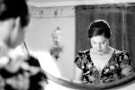 Photo de mariage miroir