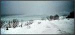 Percé sous la neige par Élisabeth Émond