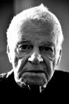Portrait homme âgé noir et blanc par Élisabeth Émond