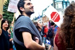Manifestation contre la privatisation, Montréal, par Élisabeth Émond