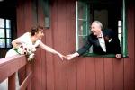 Photo de mariage fenêtre